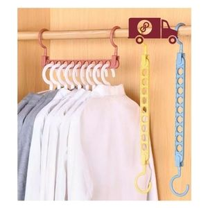 Magic 9-hole Support Circle Clothes Hanger